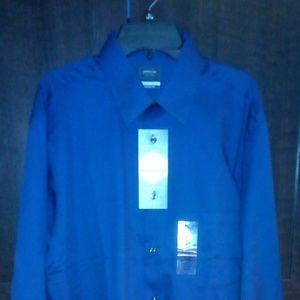 Business shirt blue size M